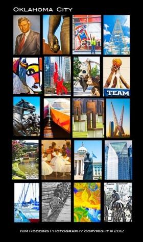 Oklahoma City, OK - Collage