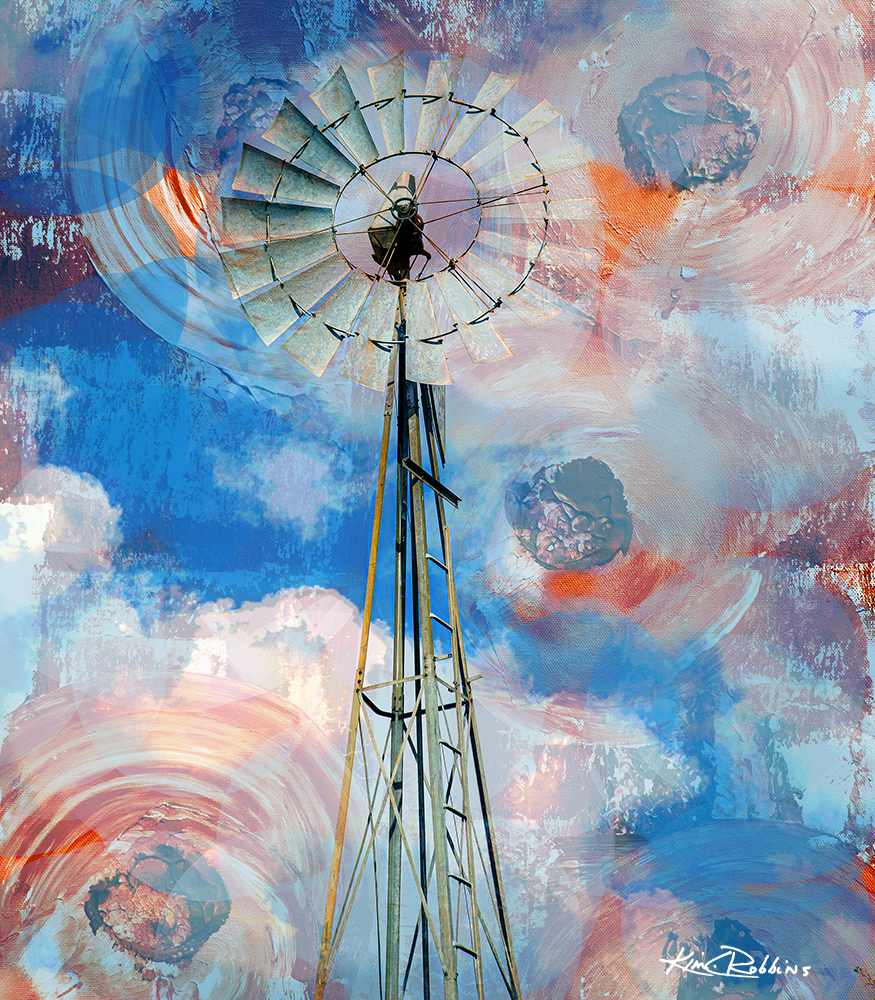 Windmill in the Sky