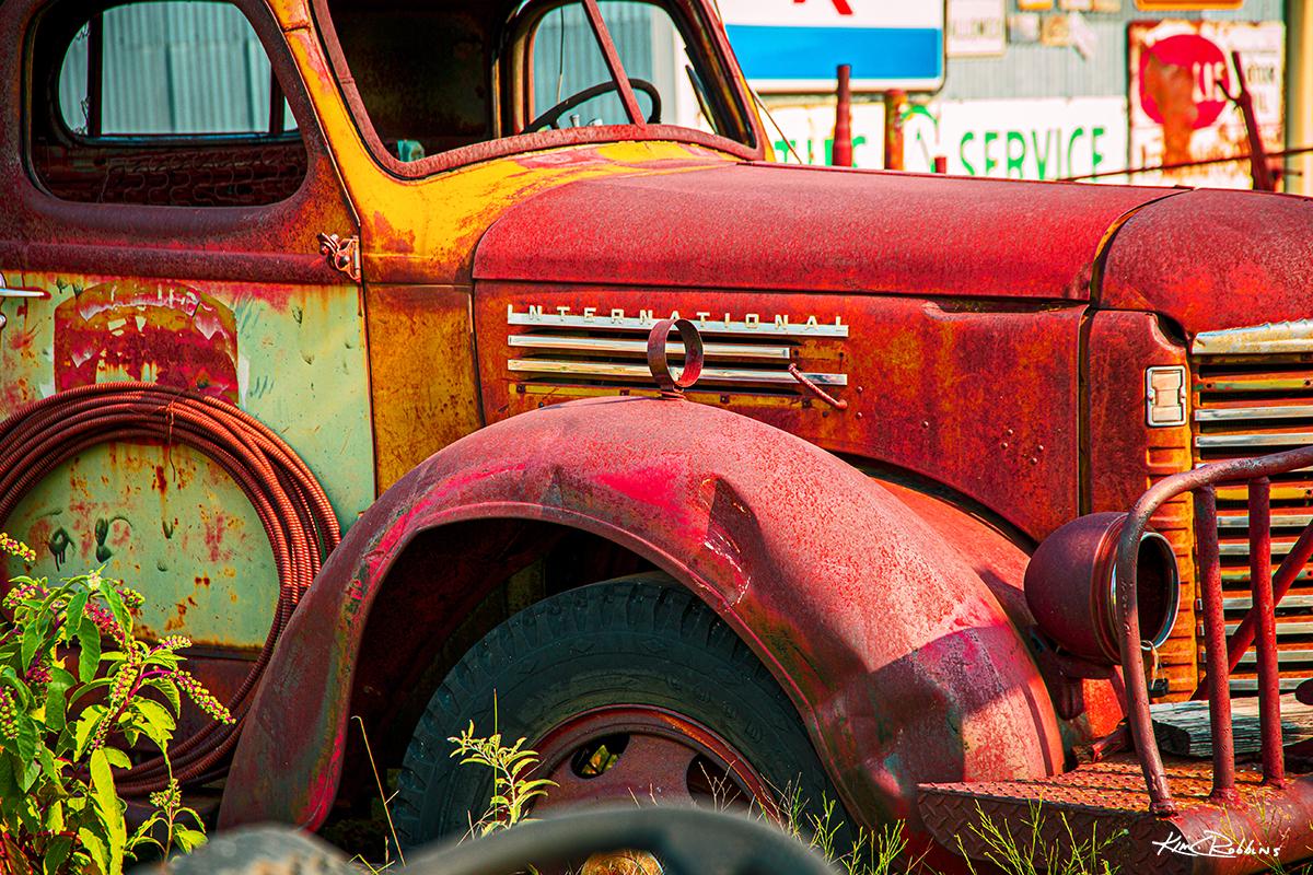 International Texas Truck