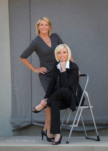 Ann Kerr & Chrissy Smith
