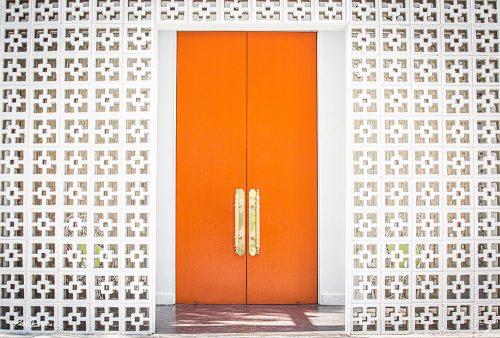 Orange Doors/Palm Springs